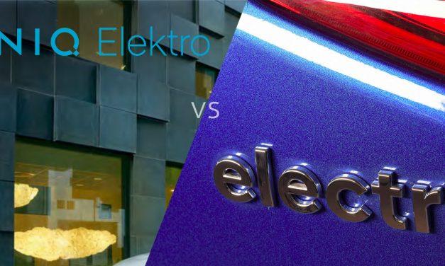 IONIQ Elektro vs. electric