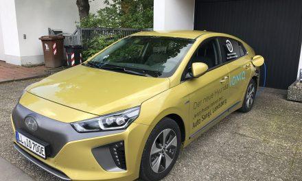 Hyundai IONIQ electric Probefahrt