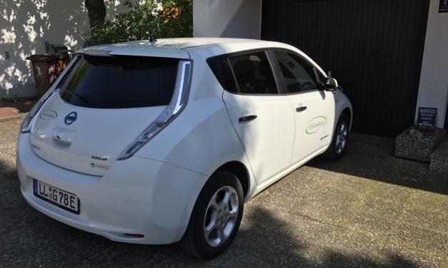 Nissan Leaf – erste Probefahrt