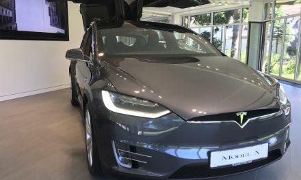 Tesla Model X Probefahrt